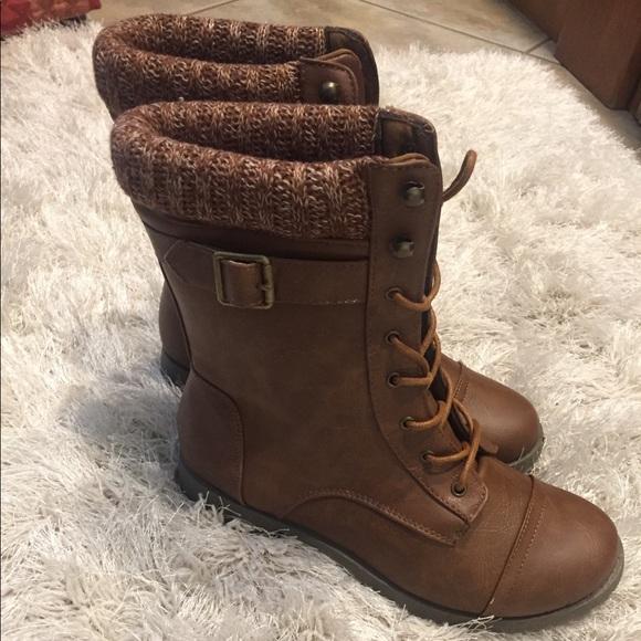 de03de46f Ardene Shoes - Ardene laced combat boots